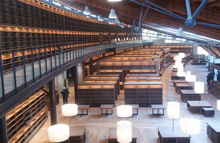 図書館内装工事